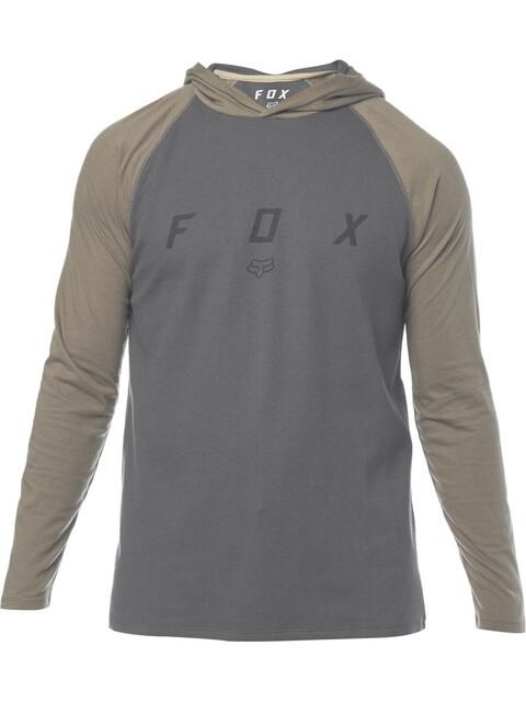 Fox Tranzcribe LS Knit Shirt Men black vintage